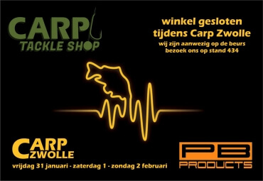 Carp Tackle Shop op Carp Zwolle